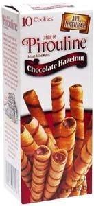 Pirouline Hezalnut Chocolate-Roll Wafer250