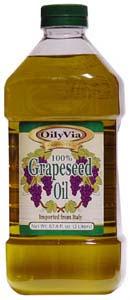 OilyVia Grape-seed Oil 2Lt250