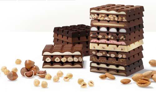 10]Ritter Sport Chocolate