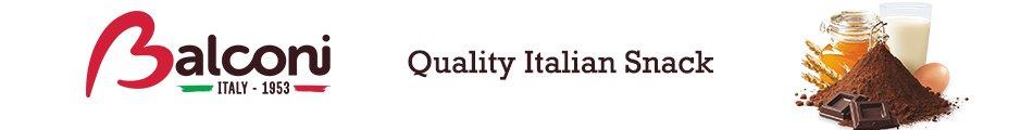 balconi logo quality italian snack