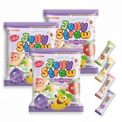 jelly straw 3 pack