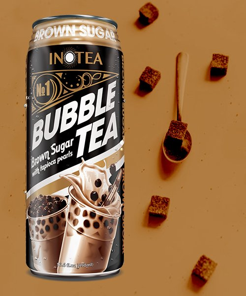 Inotea Bubble Tea Boba Brown Sugar