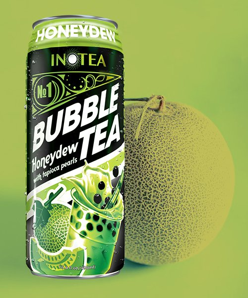 Inotea Bubble Tea Boba Honeydew